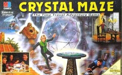 The Crystal Maze MB Board Game Complete Boxed Classic Channel 4 TV 90s Show