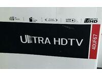 LG 40 INCH 4K LED TV. ULTRA HD 40UF670V