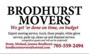 Brodhurst Movers Kawartha Lakes Peterborough Area image 1