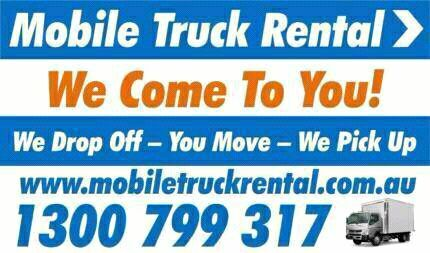 Mobile truck rentals. Moving is made easier with us Browns Plains Logan Area Preview