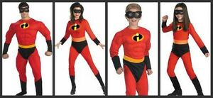 Incredibles costumes for whole family