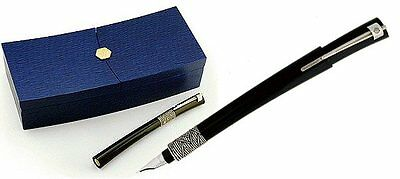 Waterman  Serenite  Fountain Pen Black 18Kt Gold  Medium Pt  New In Box