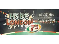 2 x HSBC London Sevens Tickets - Rugby 7s London