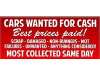 *ALL SCRAP VEHICLES CARS WANTED CASH SAME DAY TEXT OR MESSAGE FOR A NO OBLIGATION QUOTE*