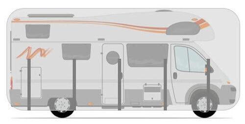 HBCOLLECTION Schutzhülle für Alkoven Wohnmobile Reisemobile 5.5 m