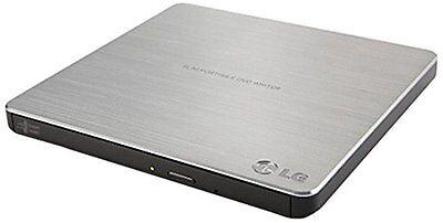 LG USB 2.0 Ultra Slim External DVDRW Drive CDRW CD DVD Burner Writer (GP60NS50)