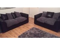 Beautiful byron 2 and 3 seater can deliver