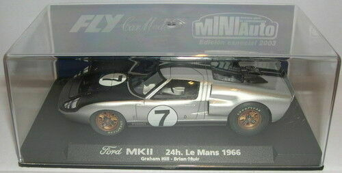 Fly 96012 1:32 Ford MKII 24H. Le Mans 1966 E 181 #7 Slot Car