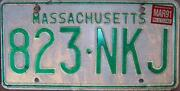 Vintage Massachusetts License Plates