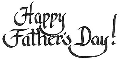 Unmounted Rubber Stamps, Sayings,  Sentiments, Men, Happy Father's Day, Father
