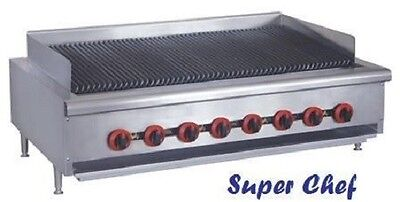 New Radiant Char Broiler Gas Grill 48