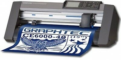 Graphtec Ce6000-40 Plus Vinyl Cutter Free Ship