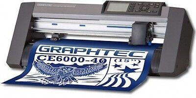 GRAPHTEC CE6000-40 Vinyl Cutter   FREE SHIP!