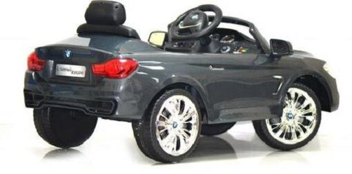 Licensed BMW 4 Series 12v Kids Battery Powered Ride on Car  Grey