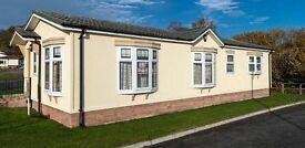 Qualiluminar Queensbury 40x20ft 2 bedroom park home DG and CH offsite