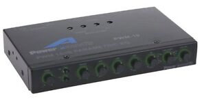 Power Acoustik PWM-19 18dB Parametric Equalizer