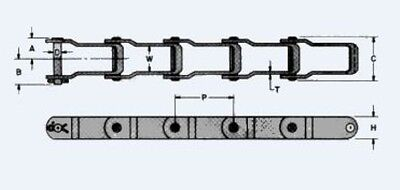Manure Spreader Chain 667x 10ft Pintle Chain New From Factory