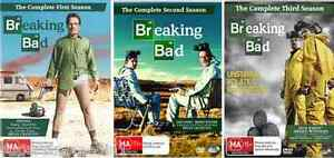 BREAKING BAD TV Series: SEASON 1+2+3= NEW SEALED R4 DVD