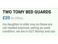 Two Tony bed guards