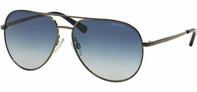 Michael Kors MK5009-10254L58 (Rodinara) Aviator Blue Silver Gradient Sunglasses