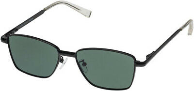 Le Specs Supastar Matte Black Square Sunglasses - 1902058