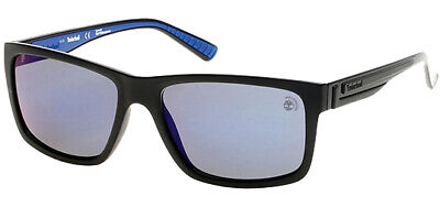 Timberland Earthkeepers Polarized Sunglasses w/ Blue Flash Lens - TB9096 02D
