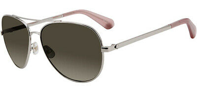 Kate Spade Avaline Polarized Women's Silver-Tone Aviator Sunglasses - (Silver Sunglasses Womens)