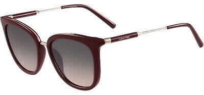 Calvin Klein Women's Rounded Cat-Eye Sunglasses w/ Gradient Lens - CK3201S (Calvin Klein Sunglasses For Women)