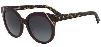Salvatore Ferragamo Women's Plum Tortoise Cat-Eye Sunglasses SF836S 520 - (Tortoise Cat Eye Sunglasses)