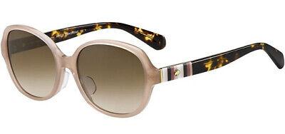 Kate Spade Cailee Women's Crystal Blush Butterfly Sunglasses - FS 0FWM (Blush Sunglasses)