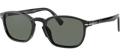 Persol Polarized Men's Glass Lens Soft Square Sunglasses PO3234S 9558 54 - Italy