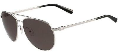 Salvatore Ferragamo Men's Classic Silver-Tone Aviator Sunglasses - SF157 (Ferragamo Sunglass)