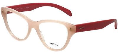 Prada Women's Two-Tone Pink Cat-Eye Eyeglass Frames - Made In (Two Tone Eyeglasses)