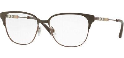 Burberry Optical Women's Brow-Line Eyeglass Frames BE1313Q 1240 - Made In (Burberry Eyeglass Frames For Women)