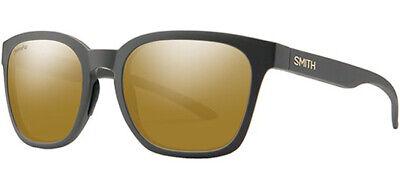 Smith Optics Founder ChromaPop Matte Gravy Soft Square Sunglasses - 0FRE (Smith Opticals)