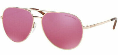 Michael Kors MK5009 (Rodinara) Aviator Rose Gold Mirrored Sunglasses