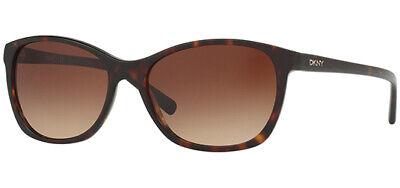 DKNY Women's Dark Tortoise Cat-Eye Sunglasses w/ Gradient Lens - DY4093 370213