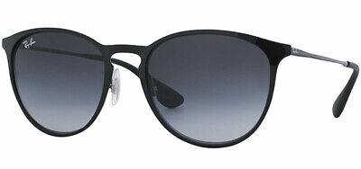 Ray-Ban Erika Polarized Women's Polished Black Metal Sunglasses RB3539 002T3 (Ray Ban Erika Women's)