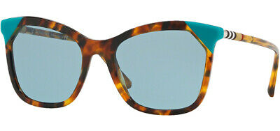Burberry Women's Brown Havana Azure Cat-Eye Sunglasses BE4263 371080 54 - Italy