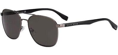 Hugo Boss Men's Vintage Style Aviator Sunglasses B0701S 0V81 NR - Made In Italy