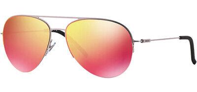 DKNY Women's Silver-Tone Aviator Sunglasses w/ Multi Mirror Lens - DY5080 10296Q