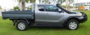 2014 Mazda BT-50 UP0YF1 XTR Freestyle Grey 6 Speed Sports Automatic Utility Hidden Valley Darwin City Preview