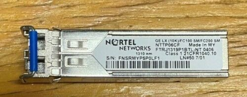 Nortel Nttp06cf  -  Om 5200 Sfp Optical Module
