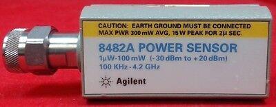 Hp Agilent 8482a Power Sensor 100khz To 4.2ghz