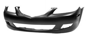 NEW PAINTED 2003-2005 MAZDA MAZDA6 FRONT BUMPERS +FREE SHIPPING
