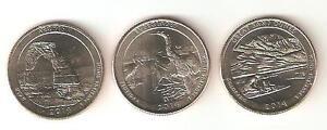 Stati Uniti America 2014 quarter dollar D 3 coin/monete - Italia - Stati Uniti America 2014 quarter dollar D 3 coin/monete - Italia