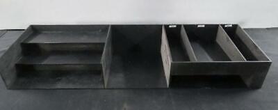Countertop Cup Lid Silverware Condiment Organizer Shelf Dispenser Rack Holder