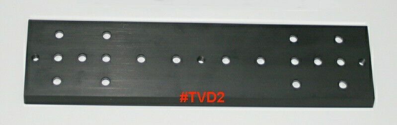 "ScopeStuff #TVD2 - 11"" Solid Aluminum Dovetail Bar 3"" Wide for GM11,GM8,CGEM,etc"