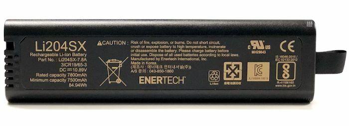 Li204SX, NI2040, NI2040PH Battery fits Anritsu Analyzers