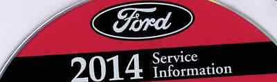 2014 Ford Focus Focus ST Service Shop Repair Information Manual ON CD NEW OEM